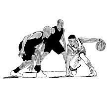 Steph Curry Sketch Photographic Print