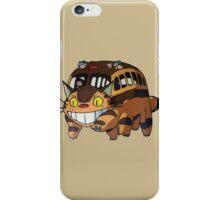 Cat Bus Totoro iPhone Case/Skin