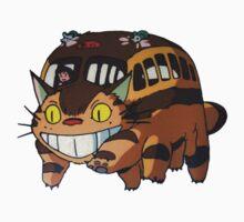Cat Bus Totoro One Piece - Short Sleeve
