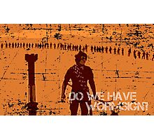 Do We Have Wormsign? - Inspired by Dune Photographic Print