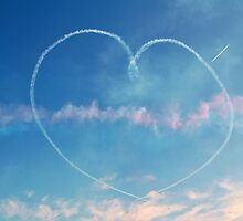 Heart in the sky by David Fowler