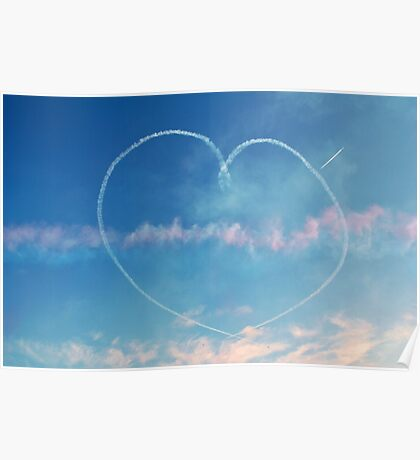 Heart in the sky Poster