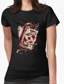 Playing To Win Ace and Jack of Spades Womens Fitted T-Shirt