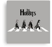 Parody : The Hobbits Canvas Print