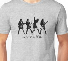 Scandal (japanese band) Unisex T-Shirt