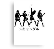 Scandal (japanese band) Canvas Print