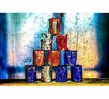 Soup Cans - After The Lunch Photographic Print