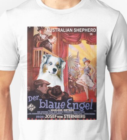 Australian Shepherd - Der Blaue Engel Movie Poster Unisex T-Shirt