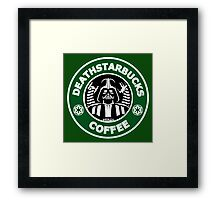 Death StarBuck Coffee Framed Print