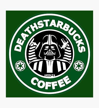 Death StarBuck Coffee Photographic Print