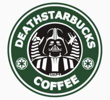 Death StarBuck Coffee Kids Tee