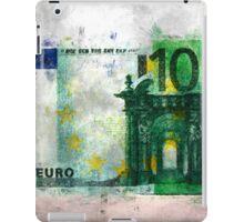 100 euro impressionism painting iPad Case/Skin