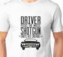 Driver Pick The Music Shotgun Unisex T-Shirt