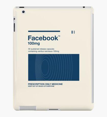 Retro social media medicine pack (Facebook Flat) iPad Case/Skin