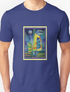 Birthday Wishes Junk By The Light Of The Silvery Moon T-Shirt