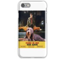 Bearded Collie - Taxi Driver Movie Poster iPhone Case/Skin
