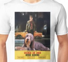 Bearded Collie - Taxi Driver Movie Poster Unisex T-Shirt