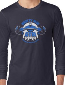 Mighty Blue Gym Long Sleeve T-Shirt