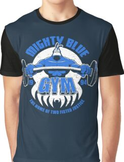 Mighty Blue Gym Graphic T-Shirt