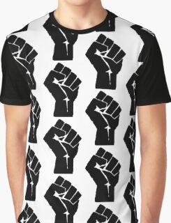 Fist of Resistance - Stencil Print Graphic T-Shirt