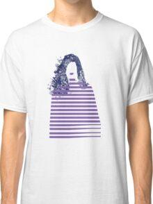 Stripe girl Classic T-Shirt