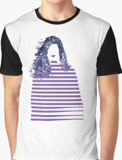 Stripe girl Graphic T-Shirt