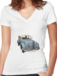 Old timer Women's Fitted V-Neck T-Shirt