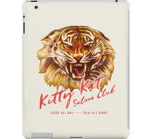 Kitty Kat Saloon Club - Cream iPad Case/Skin