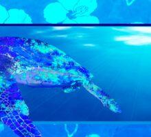 Underwater Sea Turtle Sticker