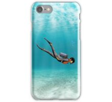 S.C.U.B.A. Diver iPhone Case/Skin