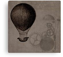 Vintage Hot Air Balloon Canvas Print