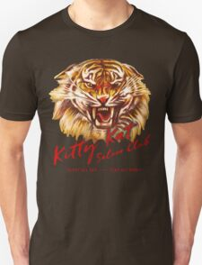 Kitty Kat Saloon Club - Cream T-Shirt
