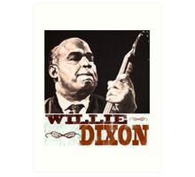 Willie Dixon Art Print