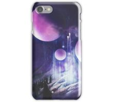 Pilgrimage of the Orbs iPhone Case/Skin