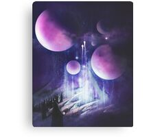 Pilgrimage of the Orbs Canvas Print