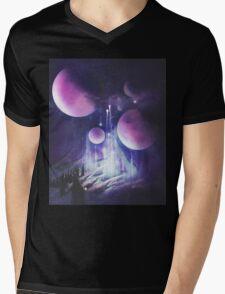 Pilgrimage of the Orbs Mens V-Neck T-Shirt