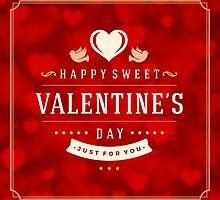 Valentine's Day Cards & Poster by singlet
