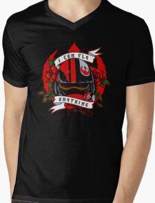 The Pilot Mens V-Neck T-Shirt