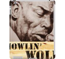 Howlin' Wolf (ink portrait ) iPad Case/Skin
