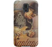 Carlos Santana (pastel drawing) Samsung Galaxy Case/Skin
