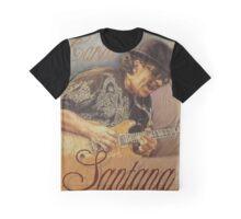 Carlos Santana (pastel drawing) Graphic T-Shirt