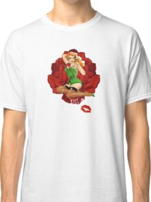 Ivy and Roses Pinup Classic T-Shirt