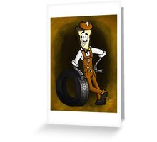 Frank (Dim Bulbs) Greeting Card