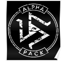 Alpha Pack - Teen Wolf Poster