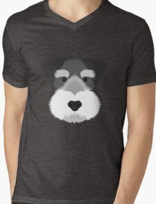 Miniature Schnauzer Mens V-Neck T-Shirt