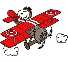 flying snoopy by goneficri