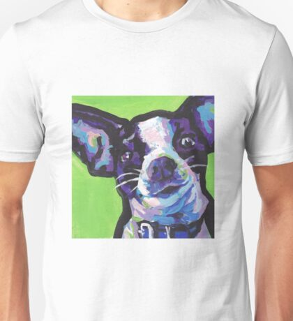 Chihuahua Dog Bright colorful pop dog art Unisex T-Shirt