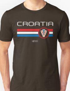 Euro 2016 Football - Croatia (Away Blue) Unisex T-Shirt