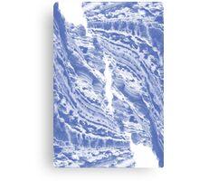Blue Cliffs Canvas Print