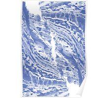 Blue Cliffs Poster
